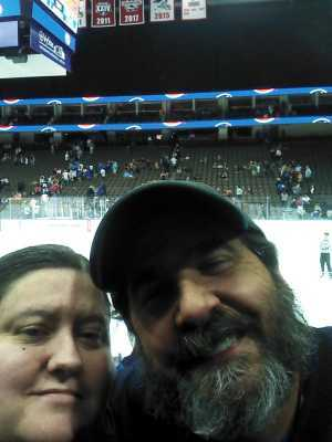 Shaunee attended Jacksonville Icemen vs. Atlanta Gladiators - ECHL on Mar 29th 2019 via VetTix