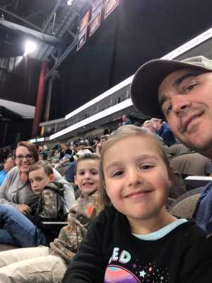 Trey attended Jacksonville Icemen vs. Atlanta Gladiators - ECHL on Mar 29th 2019 via VetTix