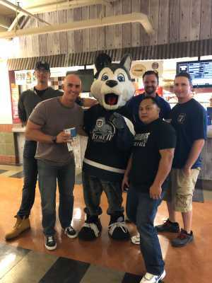 Jeffrey attended Jacksonville Icemen vs. Atlanta Gladiators - ECHL on Mar 29th 2019 via VetTix