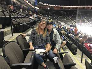 Salvatore attended Jacksonville Icemen vs. Atlanta Gladiators - ECHL on Mar 29th 2019 via VetTix