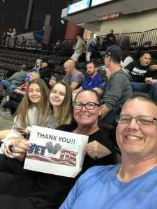 David attended Jacksonville Icemen vs. Atlanta Gladiators - ECHL on Mar 29th 2019 via VetTix