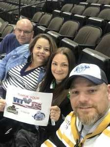 John attended Jacksonville Icemen vs. Atlanta Gladiators - ECHL on Mar 29th 2019 via VetTix