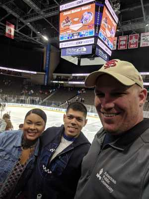 Tyler attended Jacksonville Icemen vs. Atlanta Gladiators - ECHL on Mar 29th 2019 via VetTix