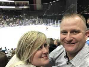 Travis attended Jacksonville Icemen vs. Atlanta Gladiators - ECHL on Mar 29th 2019 via VetTix