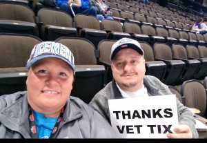 Joshua white attended Jacksonville Icemen vs. Atlanta Gladiators - ECHL on Mar 29th 2019 via VetTix