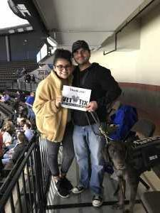 Estevan attended Jacksonville Icemen vs. Atlanta Gladiators - ECHL on Mar 29th 2019 via VetTix