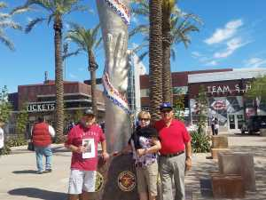 Francisco attended Cincinnati Reds vs. Kansas City Royals - MLB Spring Training on Mar 21st 2019 via VetTix