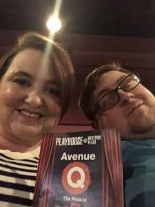Elizabeth attended Avenue Q - Saturday Matinee on Mar 9th 2019 via VetTix