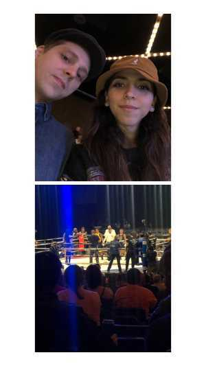 Nelson attended FDNY Boxing Presents Beast of the East Boxing - Boxing on Mar 15th 2019 via VetTix
