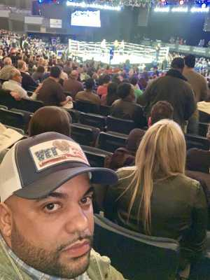 Edward attended FDNY Boxing Presents Beast of the East Boxing - Boxing on Mar 15th 2019 via VetTix