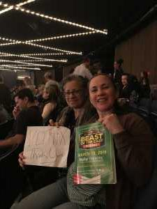 catherine attended FDNY Boxing Presents Beast of the East Boxing - Boxing on Mar 15th 2019 via VetTix