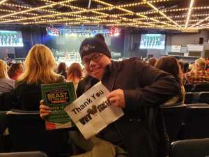 HK attended FDNY Boxing Presents Beast of the East Boxing - Boxing on Mar 15th 2019 via VetTix