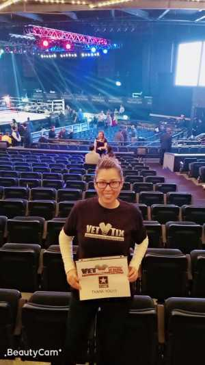 Karol attended FDNY Boxing Presents Beast of the East Boxing - Boxing on Mar 15th 2019 via VetTix