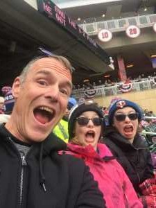 Eric attended Minnesota Twins vs. Cleveland Indians  - MLB on Mar 31st 2019 via VetTix