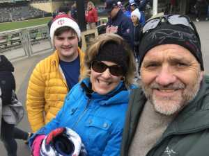 Michael attended Minnesota Twins vs. Cleveland Indians  - MLB on Mar 31st 2019 via VetTix