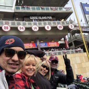 Lucas attended Minnesota Twins vs. Cleveland Indians  - MLB on Mar 31st 2019 via VetTix