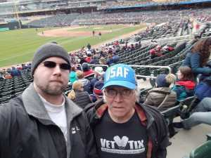 wayne attended Minnesota Twins vs. Cleveland Indians  - MLB on Mar 31st 2019 via VetTix
