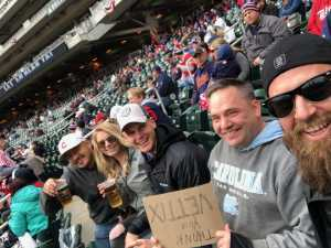 Adrian attended Minnesota Twins vs. Cleveland Indians  - MLB on Mar 31st 2019 via VetTix