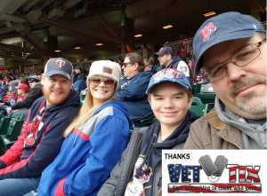 JHolmes attended Minnesota Twins vs. Cleveland Indians  - MLB on Mar 31st 2019 via VetTix
