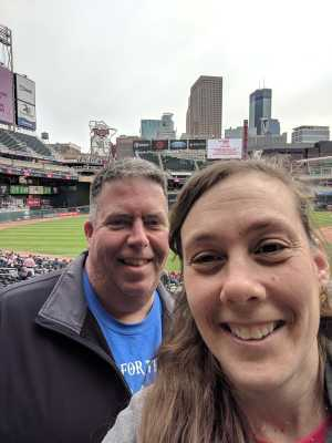 Audra attended Minnesota Twins vs. Cleveland Indians  - MLB on Mar 31st 2019 via VetTix