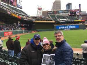 Timothy attended Minnesota Twins vs. Cleveland Indians  - MLB on Mar 31st 2019 via VetTix