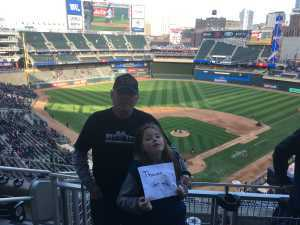 Jim attended Minnesota Twins vs. Cleveland Indians  - MLB on Mar 31st 2019 via VetTix