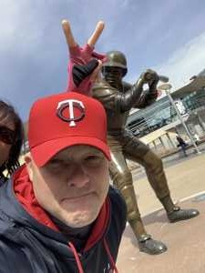 Scott attended Minnesota Twins vs. Cleveland Indians  - MLB on Mar 31st 2019 via VetTix