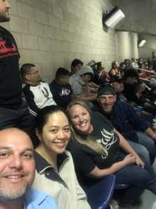 Luis attended San Antonio Commanders vs. Salt Lake Stallions - AAF on Mar 23rd 2019 via VetTix