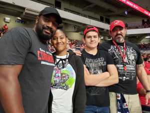 Xavier attended San Antonio Commanders vs. Salt Lake Stallions - AAF on Mar 23rd 2019 via VetTix