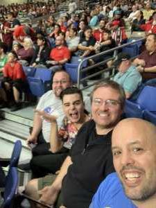Steve attended San Antonio Commanders vs. Salt Lake Stallions - AAF on Mar 23rd 2019 via VetTix