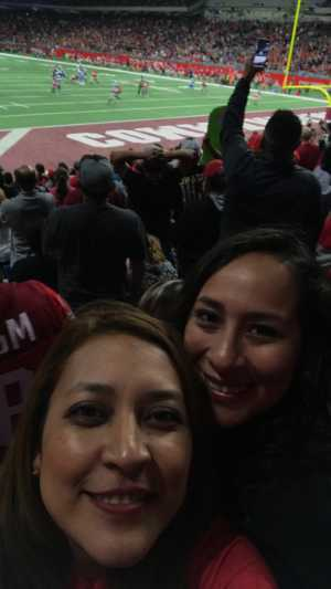 Maria attended San Antonio Commanders vs. Salt Lake Stallions - AAF on Mar 23rd 2019 via VetTix