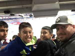 Ramon attended San Antonio Commanders vs. Salt Lake Stallions - AAF on Mar 23rd 2019 via VetTix