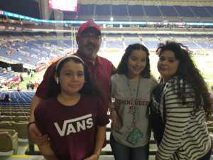 Roland Vasquez attended San Antonio Commanders vs. Salt Lake Stallions - AAF on Mar 23rd 2019 via VetTix