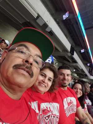 Ernestina attended San Antonio Commanders vs. Salt Lake Stallions - AAF on Mar 23rd 2019 via VetTix