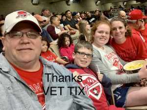 Jimmy attended San Antonio Commanders vs. Salt Lake Stallions - AAF on Mar 23rd 2019 via VetTix