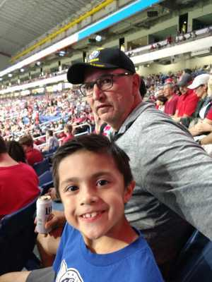 Salvador attended San Antonio Commanders vs. Salt Lake Stallions - AAF on Mar 23rd 2019 via VetTix