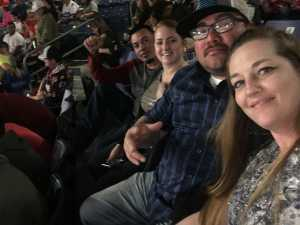 April attended San Antonio Commanders vs. Salt Lake Stallions - AAF on Mar 23rd 2019 via VetTix