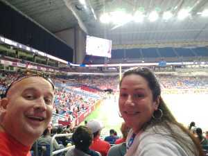 Jonathan attended San Antonio Commanders vs. Salt Lake Stallions - AAF on Mar 23rd 2019 via VetTix