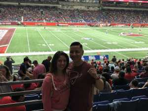 Timothy attended San Antonio Commanders vs. Salt Lake Stallions - AAF on Mar 23rd 2019 via VetTix