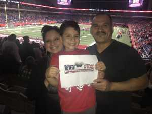 Geronimo attended San Antonio Commanders vs. Salt Lake Stallions - AAF on Mar 23rd 2019 via VetTix
