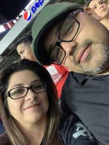 Noelia attended San Antonio Commanders vs. Salt Lake Stallions - AAF on Mar 23rd 2019 via VetTix