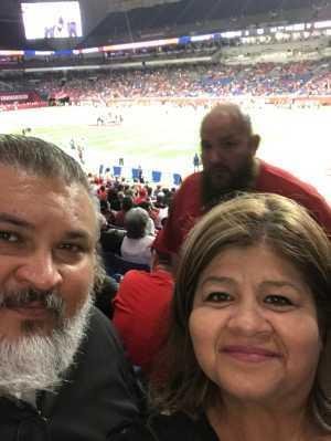 Fernando attended San Antonio Commanders vs. Salt Lake Stallions - AAF on Mar 23rd 2019 via VetTix