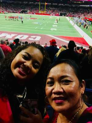 Christopher attended San Antonio Commanders vs. Salt Lake Stallions - AAF on Mar 23rd 2019 via VetTix