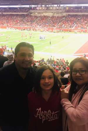 Carlos attended San Antonio Commanders vs. Salt Lake Stallions - AAF on Mar 23rd 2019 via VetTix