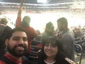 Walter attended San Antonio Commanders vs. Salt Lake Stallions - AAF on Mar 23rd 2019 via VetTix