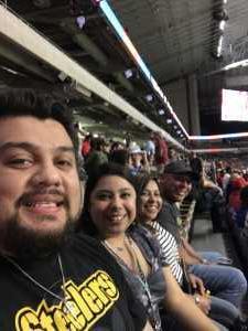 Yadira attended San Antonio Commanders vs. Salt Lake Stallions - AAF on Mar 23rd 2019 via VetTix