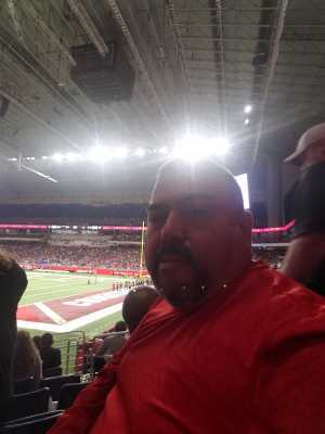 Jose Tomas attended San Antonio Commanders vs. Salt Lake Stallions - AAF on Mar 23rd 2019 via VetTix