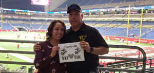 Robert ortiz attended San Antonio Commanders vs. Salt Lake Stallions - AAF on Mar 23rd 2019 via VetTix