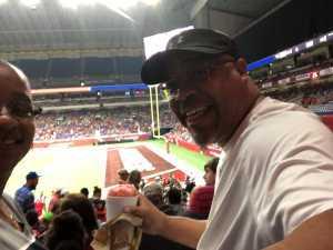 Korey attended San Antonio Commanders vs. Salt Lake Stallions - AAF on Mar 23rd 2019 via VetTix