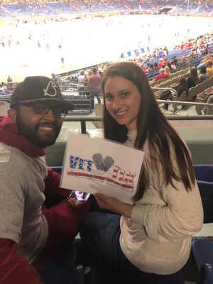 RaShon attended San Antonio Commanders vs. Salt Lake Stallions - AAF on Mar 23rd 2019 via VetTix
